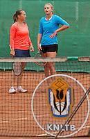 August 17, 2014, Netherlands, Raalte, TV Ramele, Tennis, National Championships, NRTK, Womans Final :  Nicole Thijssen/Mandy Wagemakers (R)(NED)<br /> Photo: Tennisimages/Henk Koster