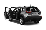 Car images close up view of a 2019 Jeep Cherokee Latitude Plus 4X4 5 Door SUV doors