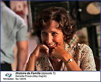 Danielle Proulx dans Histoire de Famille<br /> <br /> Editorial Only - for media use only<br /> Pour usage media (editorial)  Uniquement<br /> <br /> (c) Tele Quebec