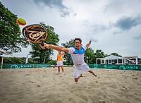 Den Bosch, Netherlands, 14 June, 2018, Tennis, Libema Open, Beach tennis<br /> Photo: Henk Koster/tennisimages.com