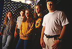 Various portrait sessions of the rock band, Collective Soul