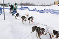 Ryan Redington Saturday, March 3, 2012  Ceremonial Start of Iditarod 2012 in Anchorage, Alaska.