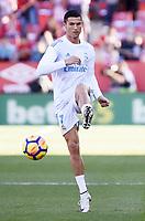 GIRONA, 29-10-2017. LaLiga 2017/ 2018, date 10. Girona 2-1 Rea Madrid. Cristiano Ronaldo of Real Madrid. Girona - Real Madrid PUBLICATIONxNOTxINxNED x1786918x  <br /> Foto Imago/Insidefoto