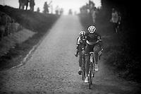 Paris-Roubaix 2012 ..Gregory Rast got dropped
