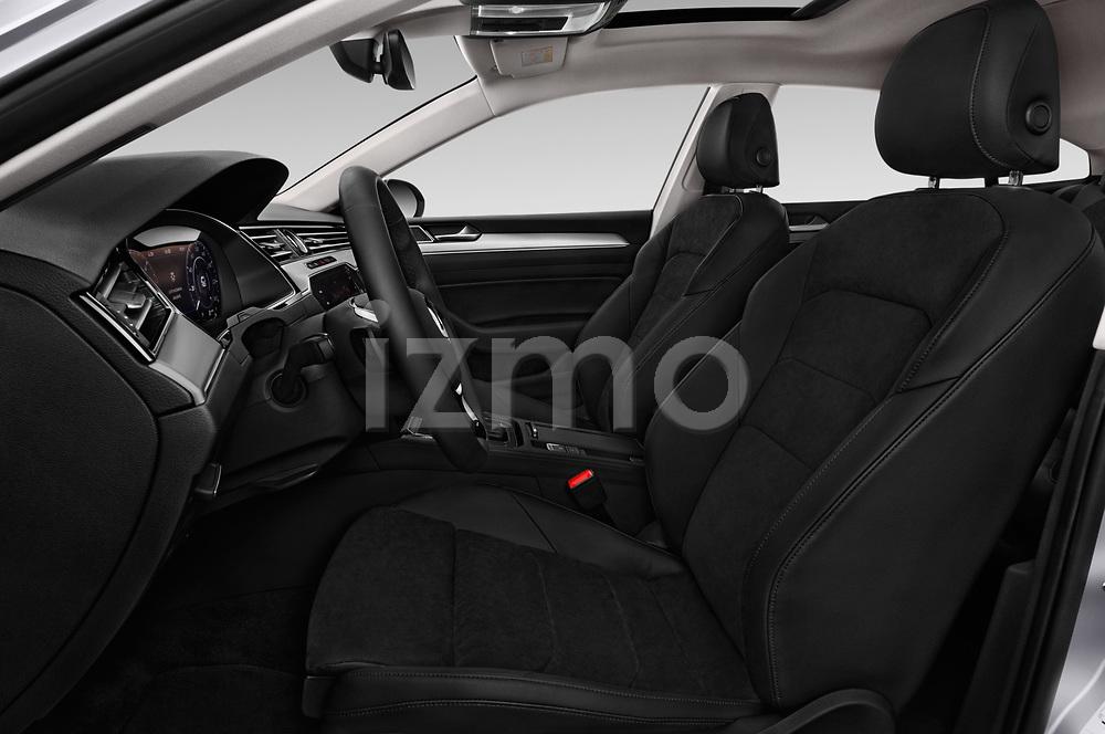 Front seat view of 2018 Volkswagen Arteon Elegance 5 Door Hatchback Front Seat  car photos