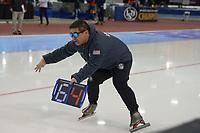 SPEEDSKATING: 16-02-2020, Utah Olympic Oval, ISU World Single Distances Speed Skating Championship, Ryan Shimabukuro (coach Team USA), ©photo Martin de Jong