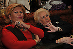 GABRIELLA FAGNO BERTINOTTI E ASSUNTA ALMIRANTE<br /> FESTA DEGLI 80 ANNI DI MARTA MARZOTTO<br /> CASA CARRARO ROMA 2011