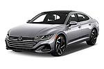 2021 Volkswagen Arteon SEL-Premium-R-Line 5 Door Hatchback Angular Front automotive stock photos of front three quarter view