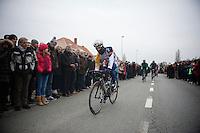 Gent-Wevelgem 2013.Jürgen Roelandts (BEL) at the alternative start in Gistel