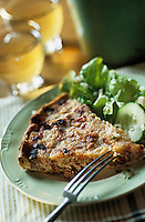 """Europe/France/Nord-Pas-de-Calais/59/Nord/Flandre/Cassel: Coeur de casselois """"tarte aux pommes et au porc) - Recette de l'estaminet """" T Kasteelhof"""""""