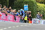 Hugo Houle (CAN) in action during the Men Elite Individual Time Trial of the UCI World Championships 2019 running 54km from Northallerton to Harrogate, England. 25th September 2019.<br /> Picture: Eoin Clarke | Cyclefile<br /> <br /> All photos usage must carry mandatory copyright credit (© Cyclefile | Eoin Clarke)