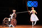 LA FILLE MAL GARDEE....Choregraphie : ASHTON Frederick..Compositeur : HEROLD Louis joseph Ferdinand..Compagnie : Ballet de l Opera National de Paris..Orchestre : Orchestre de l Opera National de Paris..Decor : LANCASTER Osbert..Lumiere : THOMSON George..Costumes : LANCASTER Osbert..Avec :..OULD BRAHAM Myriam..PHAVORIN Stephane..Lieu : Opera Garnier..Ville : Paris..Le : 26 06 2009..© Laurent PAILLIER / www.photosdedanse.com..All rights reserved