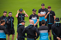 The Black Caps train for the International Test Cricket match between the New Zealand Black Caps and West Indies at the Basin Reserve in Wellington, New Zealand on Wednesday, 9 December 2020. Photo: Dave Lintott / lintottphoto.co.nz