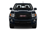 Car photography straight front view of a 2019 GMC Canyon Allterrain 4 Door Pick Up