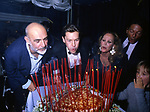 SEAN CONNERY, HELMUT BERGER,URSULA ANDRESSJEAN CLAUD FRIEDERICH E DIMITRI HAMLIN <br /> FESTA ALL'ACROPOLIS PER URSULA ANDRESS ROMA 1986