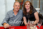 Enjoying the evening in Cassidys on Saturday, l to r: Jimmy and Joan Moriarty from Tralee