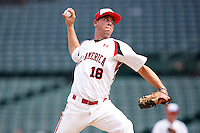 August 8, 2009:  Pitcher Brandon Brennan (18) of Team One during the Under Armour All-America event at Wrigley Field in Chicago, IL.  Photo By Mike Janes/Four Seam Images