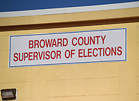 LAUDERHILL, FL - OCTOBER 14: A General view at the Broward County Supervisor of Elections office during the 2020 Presidential Election on October 14, 2020 in Lauderhill, Florida. <br /> CAP/MPI04<br /> ©MPI04/Capital Pictures