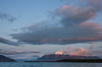 Mount Katolinat, Naknek lake, Katmai National Park, Alaska.