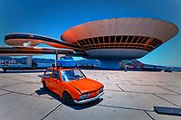 Niterói Contemporary Art Museum<br /> Museu de Arte Contemporânea de Niterói in Rio de Janeiro, Brazil