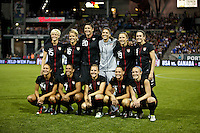 USWNT starting 11. USWNT played played a friendly against Canada at JELD-WEN Field in Portland, Oregon on September 22, 2011.
