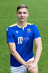 Lars Dendoncker, St Johnstone FC...2021-22 Season<br />Picture by Graeme Hart.<br />Copyright Perthshire Picture Agency<br />Tel: 01738 623350  Mobile: 07990 594431