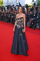 Salomé Stévenin sur le tapis rouge pour la projection du film THE BEGUILED / LES PROIES lors du soixante-dixième (70ème) Festival du Film à Cannes, Palais des Festivals et des Congres, Cannes, Sud de la France, mercredi 24 mai 2017. Philippe FARJON / VISUAL Press Agency