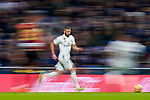 Karim Benzema of Real Madrid in action during the La Liga 2018-19 match between Real Madrid and Rayo Vallencano at Estadio Santiago Bernabeu on December 15 2018 in Madrid, Spain. Photo by Diego Souto / Power Sport Images