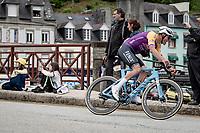 Mathieu Van der Poel (NED/Alpecin-Fenix) rolling through Châteaulin<br /> <br /> Stage 1 from Brest to Landerneau (198km)<br /> 108th Tour de France 2021 (2.UWT)<br /> <br /> ©kramon