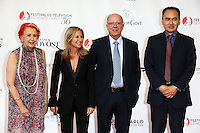 56th Monte-Carlo Television Festival opening red carpet. Members of 'Jury ActualitÈ'.