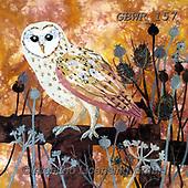 Simon, REALISTIC ANIMALS, REALISTISCHE TIERE, ANIMALES REALISTICOS, innovative, paintings+++++KateFindlay_AutumnBarnOwl,GBWR157,#a#, EVERYDAY