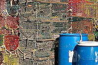 Lobster traps.