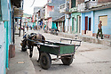 27/07/18<br /> <br /> Typical street scene with horse and cart, Trinidad, Cuba.<br /> <br /> All Rights Reserved, F Stop Press Ltd. (0)1335 344240 +44 (0)7765 242650  www.fstoppress.com rod@fstoppress.com