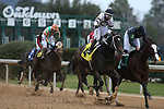 January 23, 2021: Silver State (4) with jockey Ricardo Santana, Jr. aboard after crossing the finish line in the Fifth Season Stakes at Oaklawn Racing Casino Resort in Hot Springs, Arkansas on January 22, 2021. Justin Manning/Eclipse Sportswire/CSM