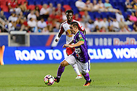 Harrison, NJ - Wednesday Aug. 03, 2016: Kendell Herrarte during a CONCACAF Champions League match between the New York Red Bulls and Antigua at Red Bull Arena.