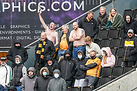 23rd May 2021; Molineux Stadium, Wolverhampton, West Midlands, England; English Premier League Football, Wolverhampton Wanderers versus Manchester United; Wolverhampton Wanderers fans are glad to be back after the pandemic