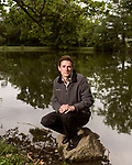 June 30, 2016. Blacksburg, Virginia. <br />  Marc Edwards on the campus of Virginia Tech.<br /> Marc Edwards is a civil engineering/environmental engineer and the Charles P. Lunsford Professor of Civil and Environmental Engineering at Virginia Tech. He is an expert in water quality and corrosion, and his work in Washington DC  and in Flint, Michigan helped to expose high levels of lead contamination in the water supplies of those two cities, triggering investigations into the cause of the pollution.