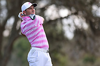14th March 2021; Ponte Vedra Beach, Florida, USA;  Sergio Garcia of Spain plays a tee shot on the 9th hole during the final round of THE PLAYERS Championship on March 14, 2021 at TPC Sawgrass Stadium Course in Ponte Vedra Beach, Fl.