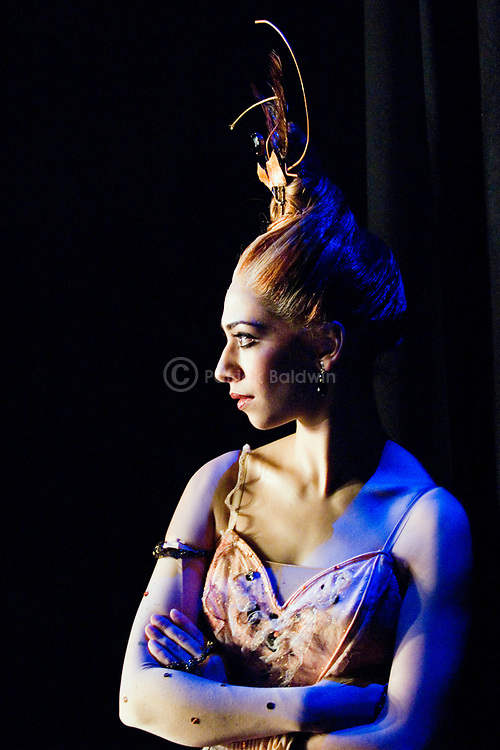 English National Ballet dancer Begona Cao watches from the wings