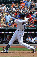 New York Mets outfielder Carlos Beltran #9 during a game against the St. Louis Cardinals at Citi Field on July 21, 2011 in Queens, NY.  Cardinals defeated Mets 6-2.  Tomasso DeRosa/Four Seam Images