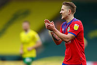 20th March 2021; Carrow Road, Norwich, Norfolk, England, English Football League Championship Football, Norwich versus Blackburn Rovers; Lewis Holtby of Blackburn Rovers celebrates the goal by Sam Gallagher for 1-1