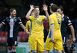 Ross County v St Johnstone…18.02.17     SPFL    Global Energy Stadium, Dingwall<br />Steven MacLean celebrates his goal<br />Picture by Graeme Hart.<br />Copyright Perthshire Picture Agency<br />Tel: 01738 623350  Mobile: 07990 594431