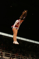 25 February 2006: Cheerleaders during Stanford's 78-47 win over the Washington State Cougars at Maples Pavilion in Stanford, CA.