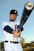 Feb 21, 2009; Lakeland, FL, USA; The Detroit Tigers outfielder Alexis Gomez (64) during photoday at Tigertown. Mandatory Credit: Tomasso De Rosa/ Four Seam Images