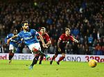 Daniel Candeias has his penalty kick saved by Jamie MacDonald