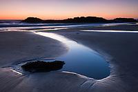 Sunset on the Beach, Oregon.