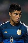 Enzo Perez of Argentina looks on during the HKFA Centennial Celebration Match between Hong Kong vs Argentina at the Hong Kong Stadium on 14th October 2014 in Hong Kong, China. Photo by Aitor Alcalde / Power Sport Images