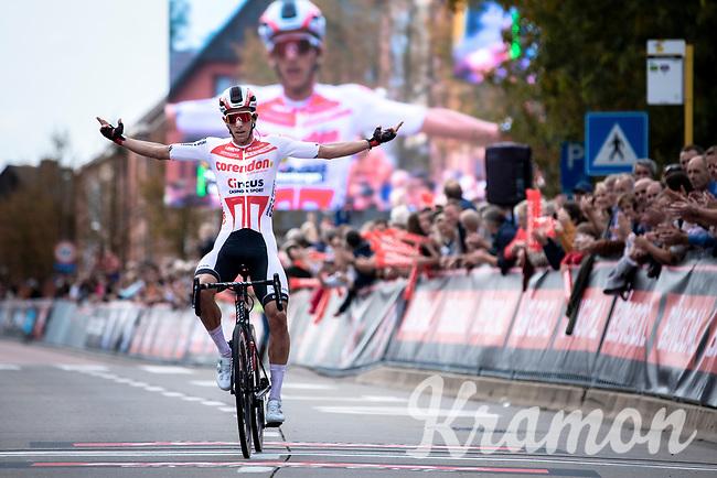 Dries de Bondt (BEL/Corendon Circus) wins the 23th Memorial Rik Van Steenbergen 2019<br /> One Day Race: Beerse > Arendonk 208km (UCI 1.1)<br /> ©kramon