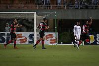 SÃO PAULO, SP 02.03.2019: SANTOS-OESTE - Bruno Lopes comemora gol. Santos e Oeste em jogo válido pela nona rodada do campeonato Paulista 2019, no estádio Pacaembu, zona oeste da capital. (Foto: Ale Frata/Codigo19)