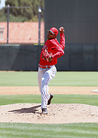 Stiward Aquino - Los Angeles Angels 2019 extended spring training (Bill Mitchell)
